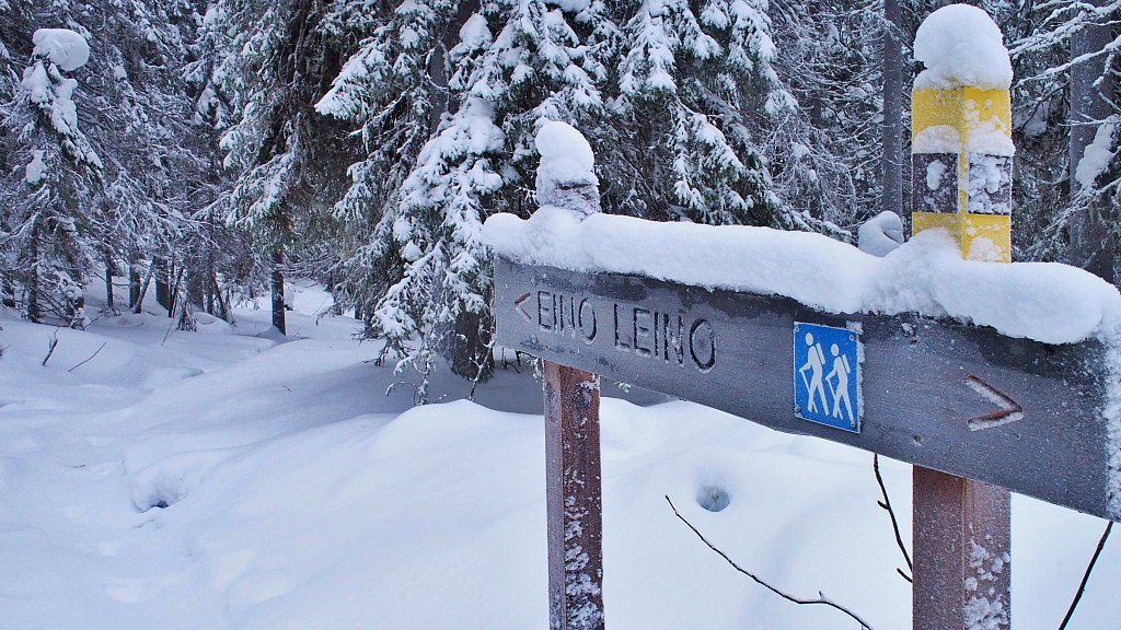 Out Of Breath (and Snowshoes) In The Vuokatti Hills