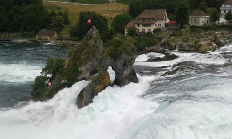 Rheinfall – Visiting The Largest Waterfall In Europe