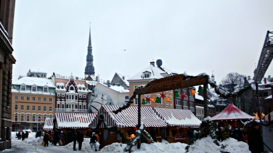 Riga On Christmas