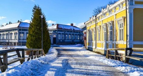 Walking Old Rauma — Unesco World Heritage Site In Snapshots