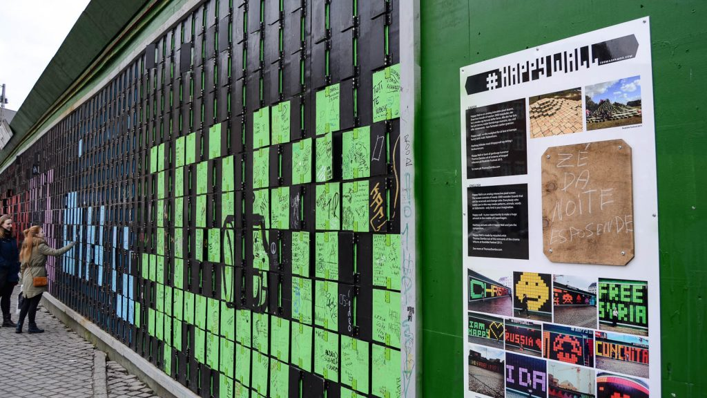 What To Do In Copenhagen For Free: Spread The Happiness With #Happywall