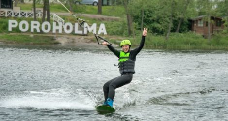A New Toy In Town: Testing Poroholma Wakepark!