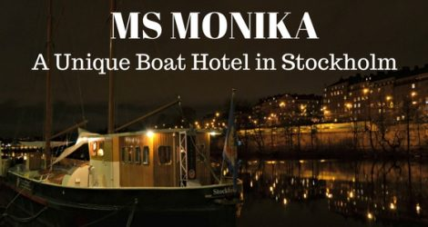 A Unique Night On A Unique Boat Hotel MS Monika In Stockholm