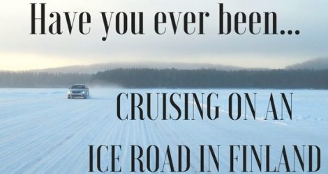 Cruising On Europe's Longest Inland Ice Road