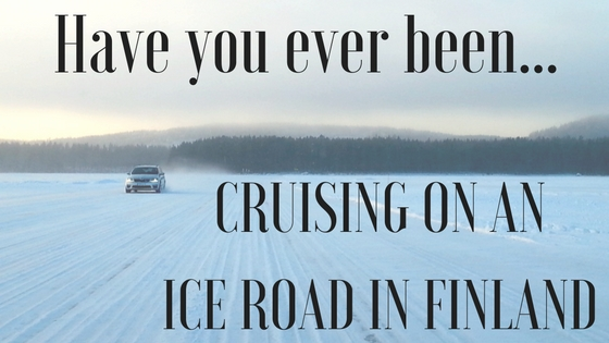 Cruising On An Ice Road
