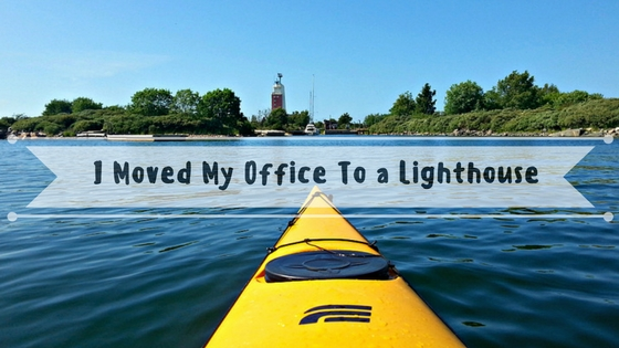 I Moved My Office To A Lighthouse | Live Now – Dream Later Travel Blog