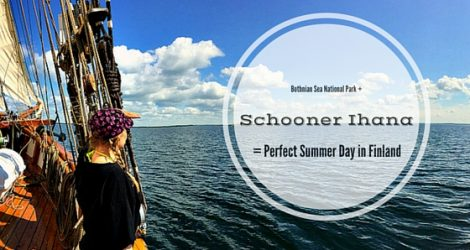 Bothnian Sea National Park + Schooner Ihana = Recipe For A Perfect Summer Day In Finland!
