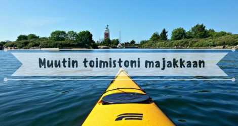Muutin Toimistoni Majakkaan | Live Now – Dream Later -matkablogi