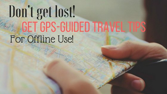Gps Guided Travel Articles
