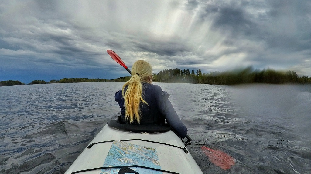 Easy Seal Paddling On Lake Saimaa Turned Into An Extreme Adventure